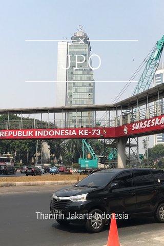 JPO Thamrin Jakarta Indonesia