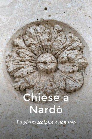 Chiese a Nardò La pietra scolpita e non solo