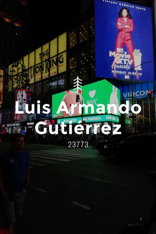 Luis Armando Gutiérrez 23773
