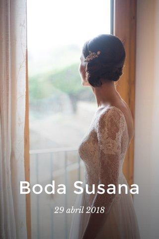 Boda Susana 29 abril 2018