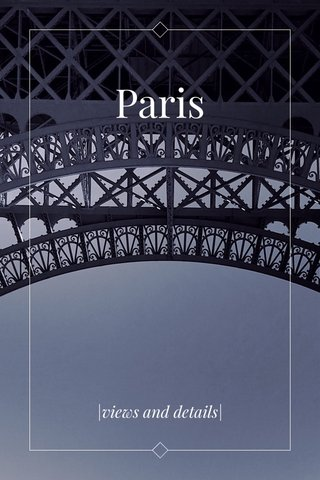Paris |views and details|