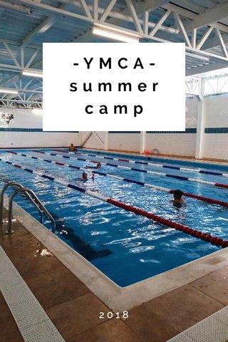 -YMCA- summer camp 2018