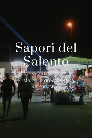 Sapori del Salento Festa delle orecchiette a Vignacastrisi