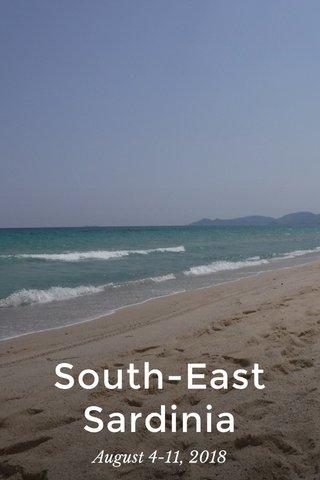 South-East Sardinia August 4-11, 2018