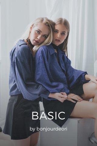 BASIC by bonjourdeori