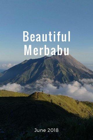 Beautiful Merbabu June 2018