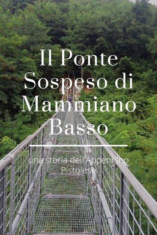 Il Ponte Sospeso di Mammiano Basso una storia dell'Appennino Pistoiese