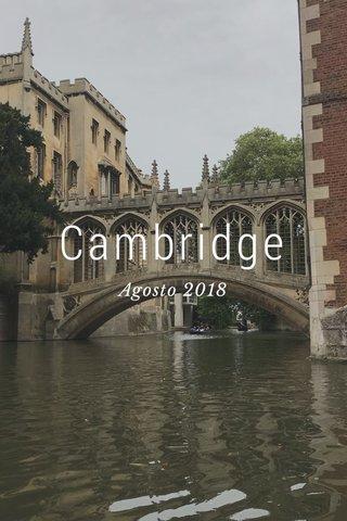 Cambridge Agosto 2018
