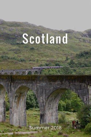 Scotland Summer 2018