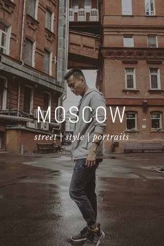 MOSCOW street | style | portraits