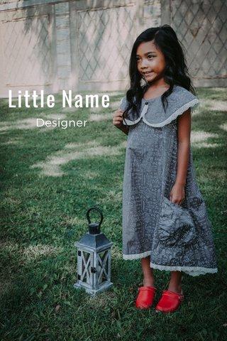 Little Name Designer