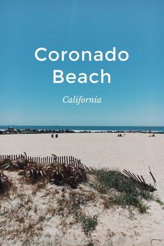 Coronado Beach California