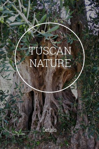 TUSCAN NATURE Details