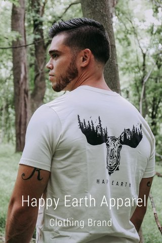 Happy Earth Apparel Clothing Brand