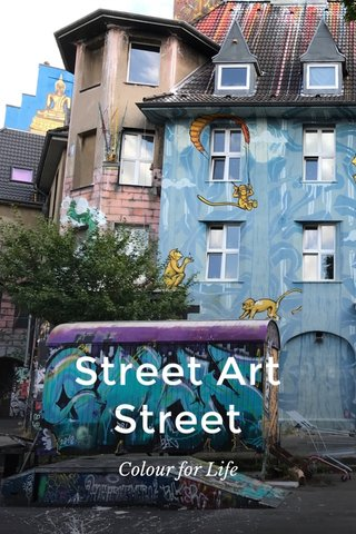 Street Art Street Colour for Life