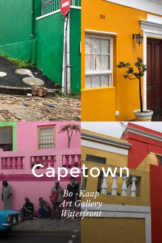 Capetown Bo -Kaap Art Gallery Waterfront