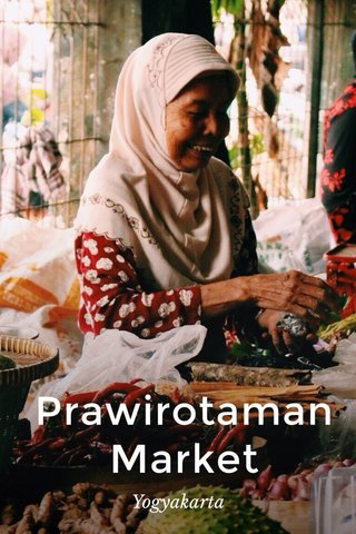 Prawirotaman Market Yogyakarta