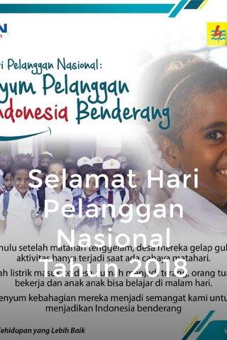 Selamat Hari Pelanggan Nasional Tahun 2018