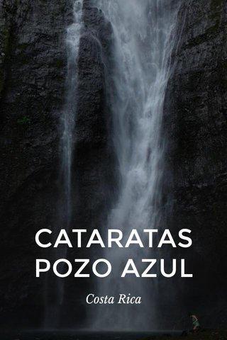 CATARATAS POZO AZUL Costa Rica