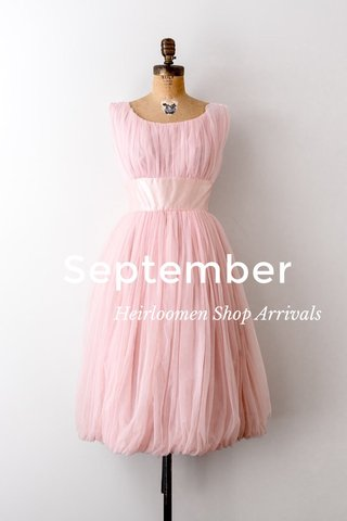 September Heirloomen Shop Arrivals