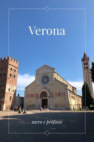 Verona sacro e profano