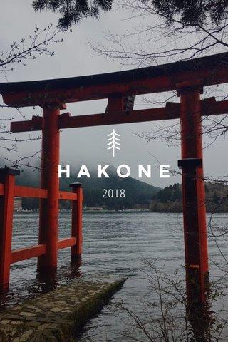 HAKONE 2018