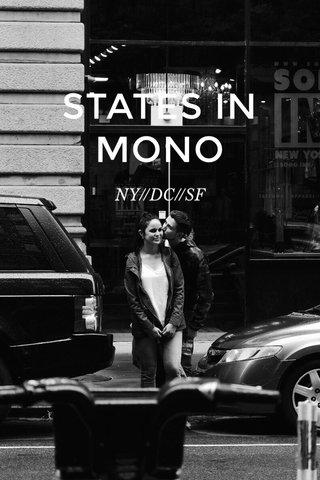 STATES IN MONO NY//DC//SF