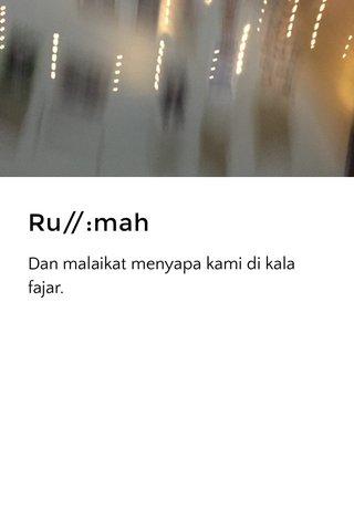 Ru//:mah