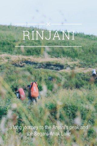 RINJANI a long journey to the Anjani's peak and the Segara Anak Lake
