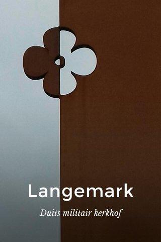 Langemark Duits militair kerkhof