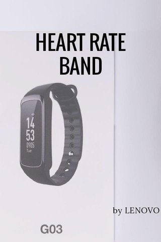 HEART RATE BAND by LENOVO