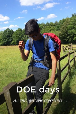DOE days An unforgettable experience