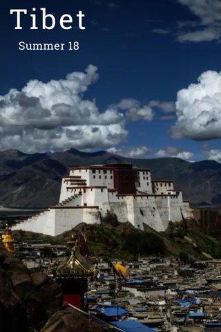 Tibet Summer 18
