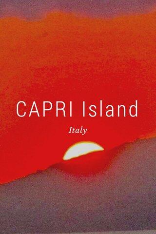 CAPRI Island Italy