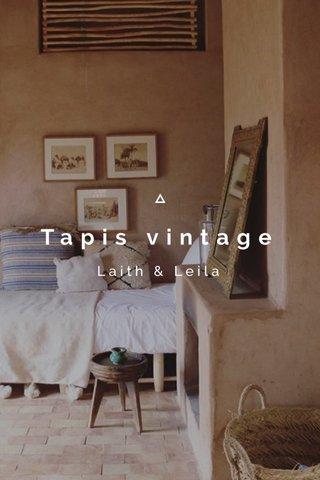 Tapis vintage Laith & Leila