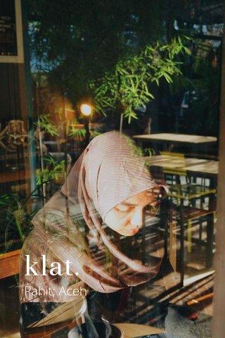 klat. Pahit; Aceh