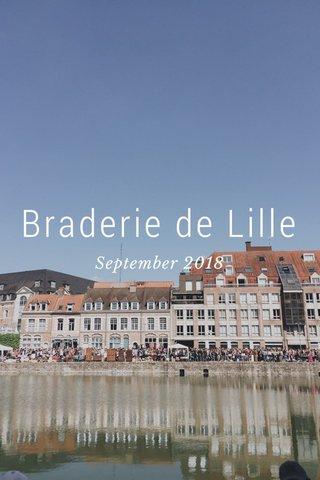 Braderie de Lille September 2018