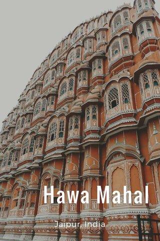 Hawa Mahal Jaipur, India