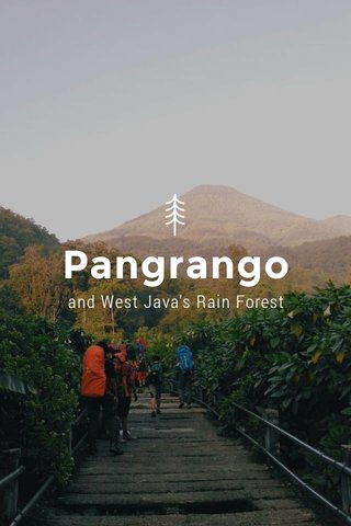 Pangrango and West Java's Rain Forest