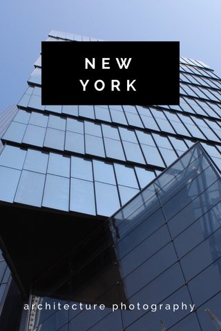 NEW YORK architecture photography