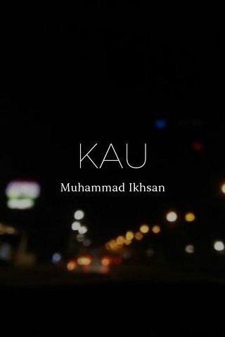 KAU Muhammad Ikhsan