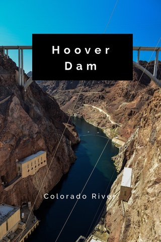 HooverDam Colorado River