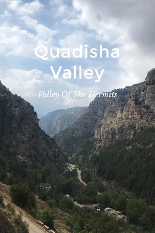 Quadisha Valley Valley Of The Hermits