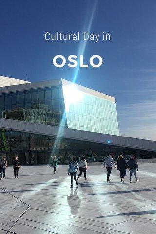OSLO Cultural Day in