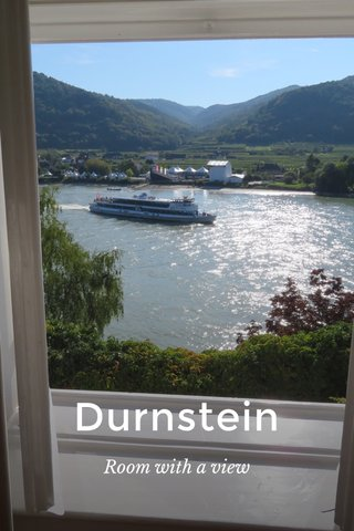 Durnstein Room with a view