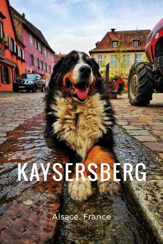 KAYSERSBERG Alsace, France