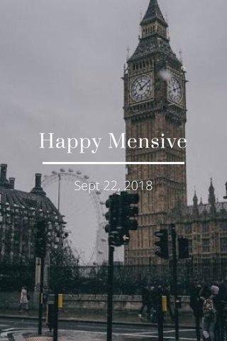 Happy Mensive Sept 22, 2018