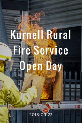 Kurnell Rural Fire Service Open Day 2018-09-23
