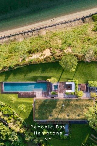 Peconic Bay Hamptons NY