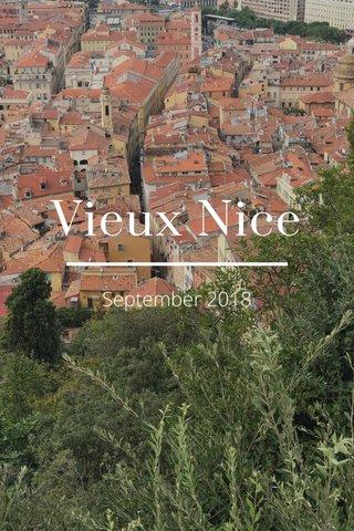 Vieux Nice September 2018